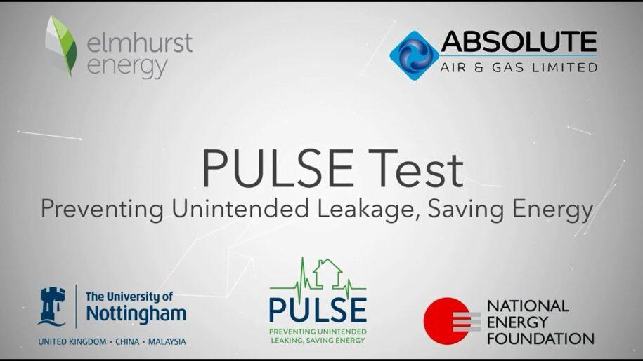 Pulse – Effective Low Pressure Airtightness Testing