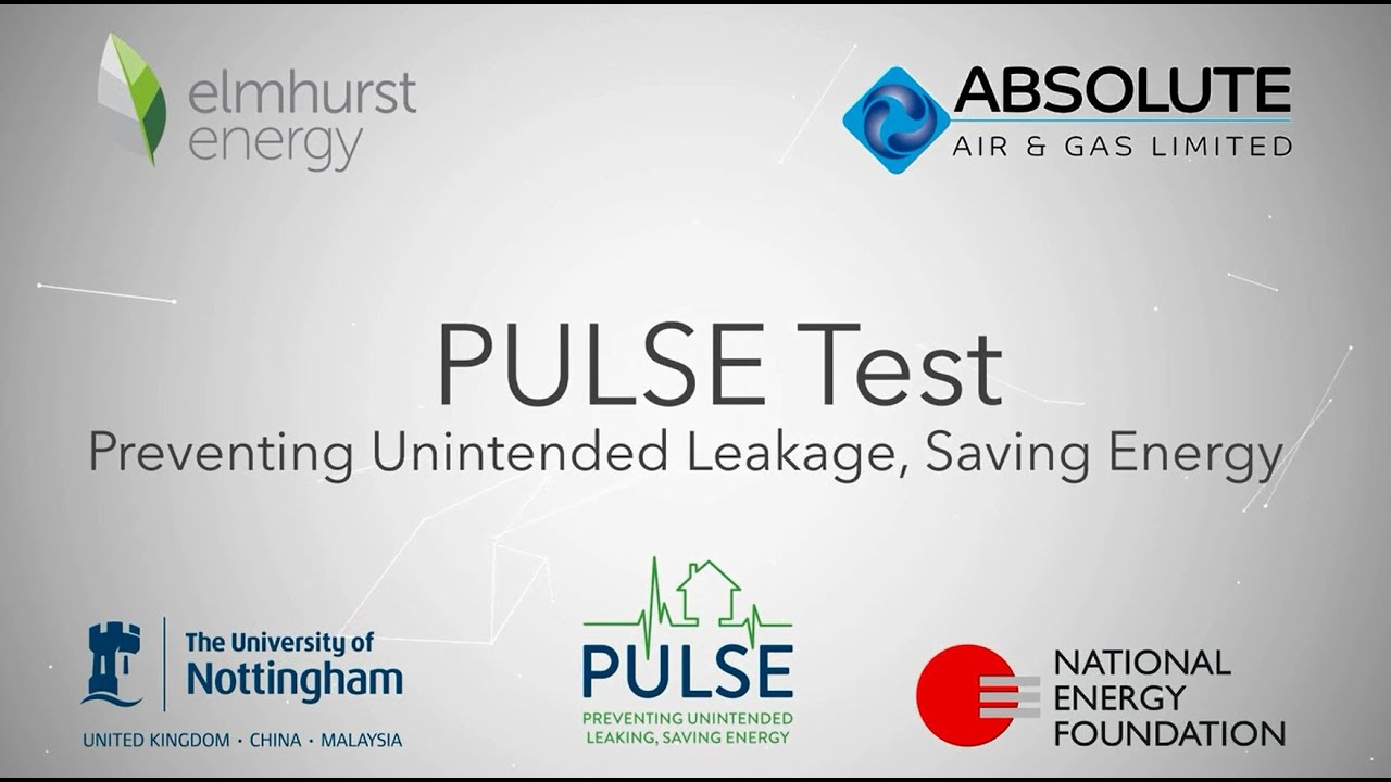 Pulse – Effective Low Pressure Airtightness Testing