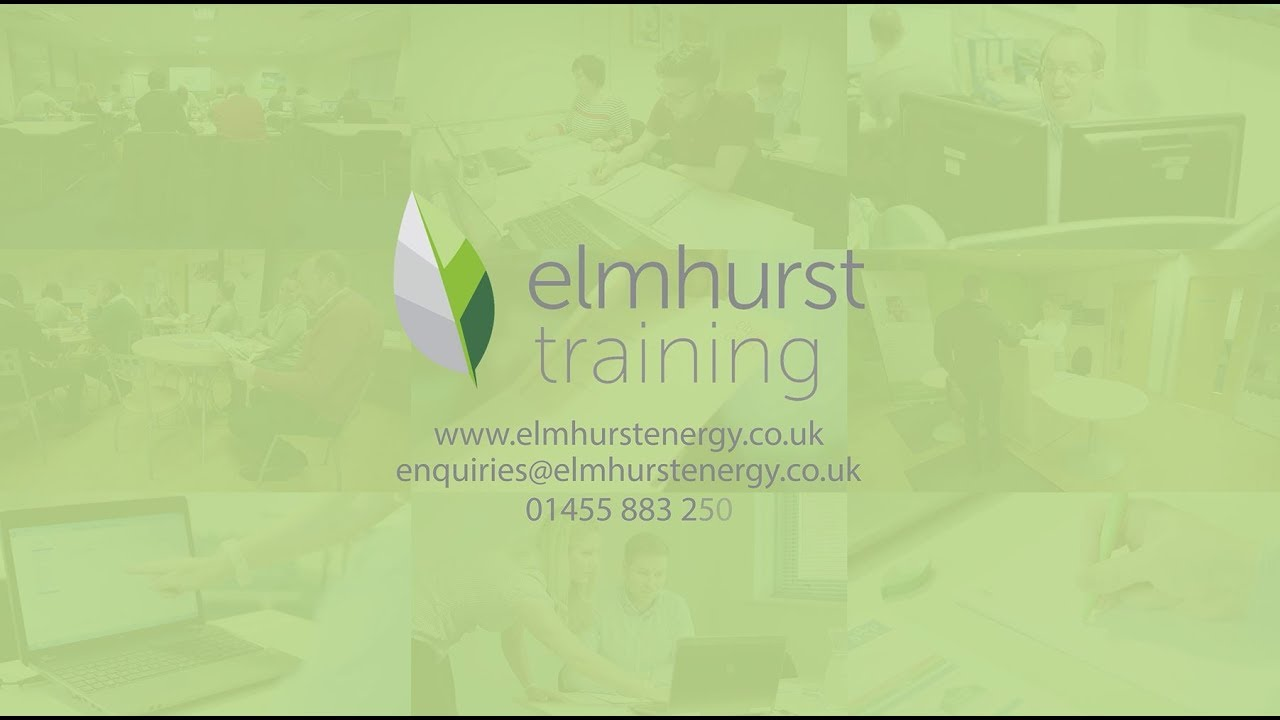 Training with Elmhurst Energy