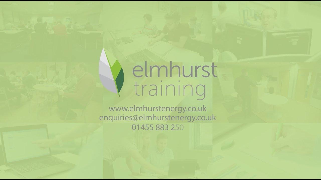 Training with Elmhurst Energy